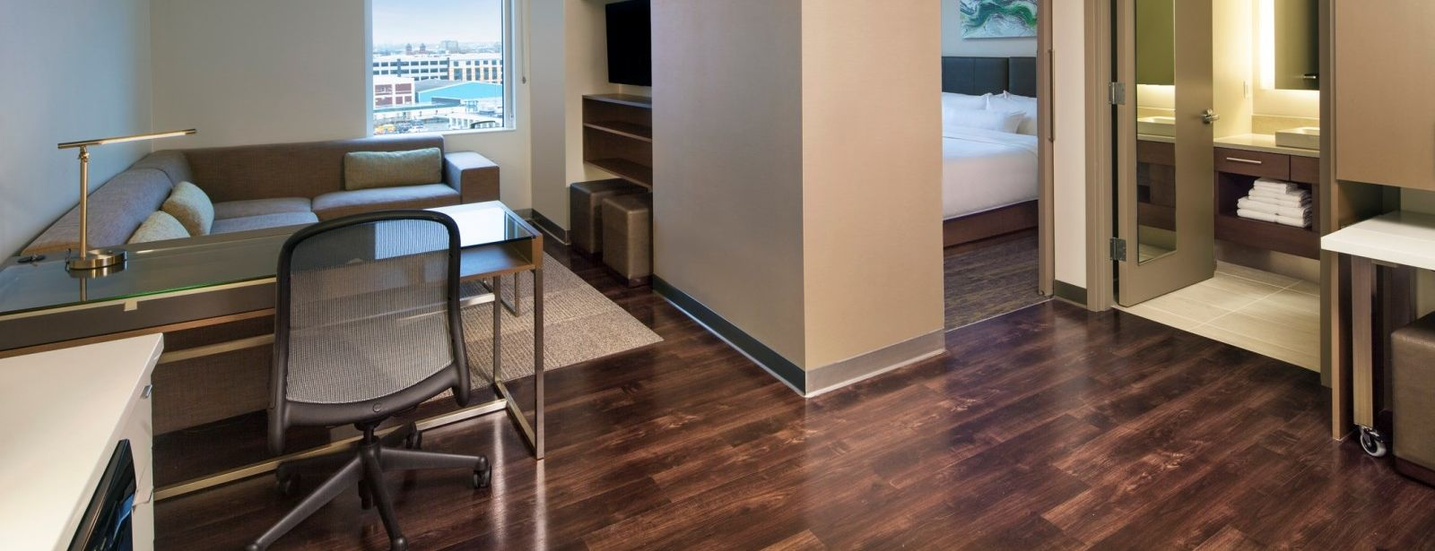 Seaport Accommodations - One Bedroom Suite
